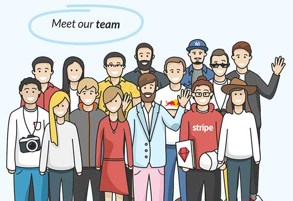 Team header