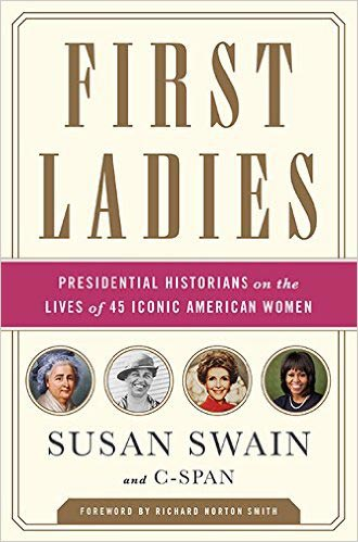 Cover design of First Ladies by Susan Swaine
