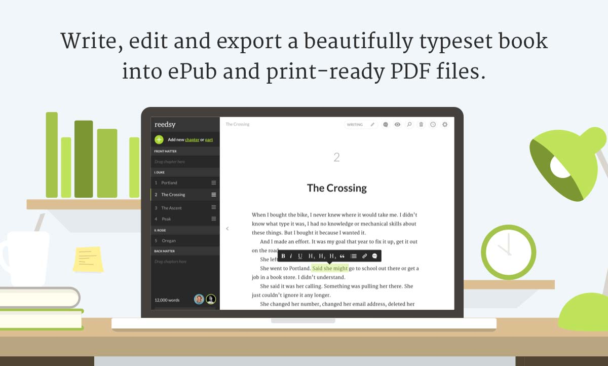 The reedsy book editor a powerful writing tool reedsy fandeluxe Choice Image